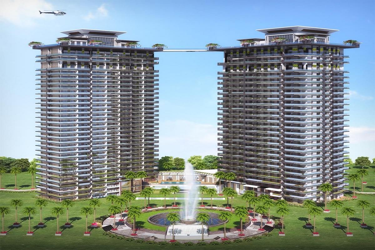 central zeitaku apartments at bellavista towers tower view5