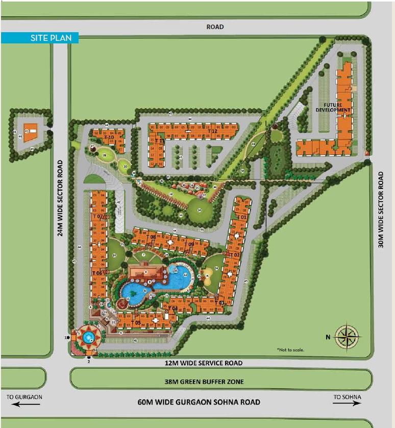 chd resortico project master plan image1