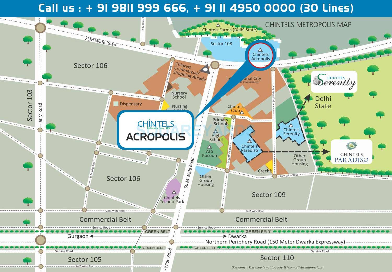 chintels acropolis location image1