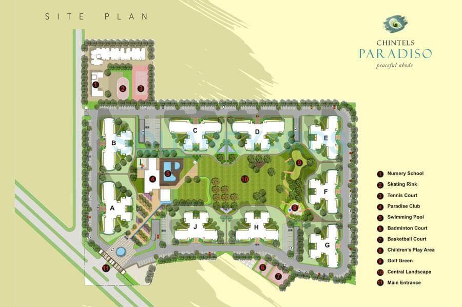 chintels paradiso master plan image1