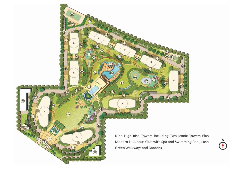 chintels serenity master plan image9