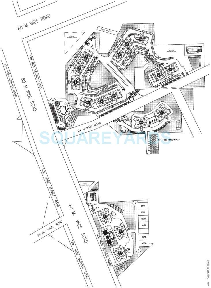 dlf new town heights i master plan image1