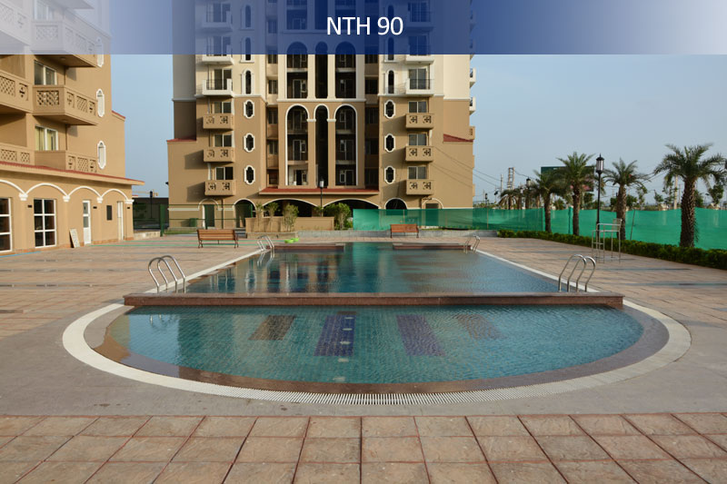 dlf new town heights ii project tower view3