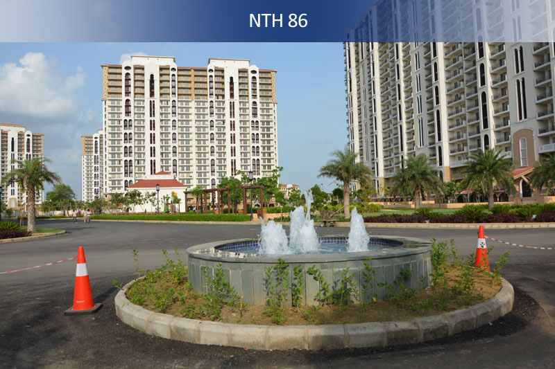 dlf new town heights ii project tower view4