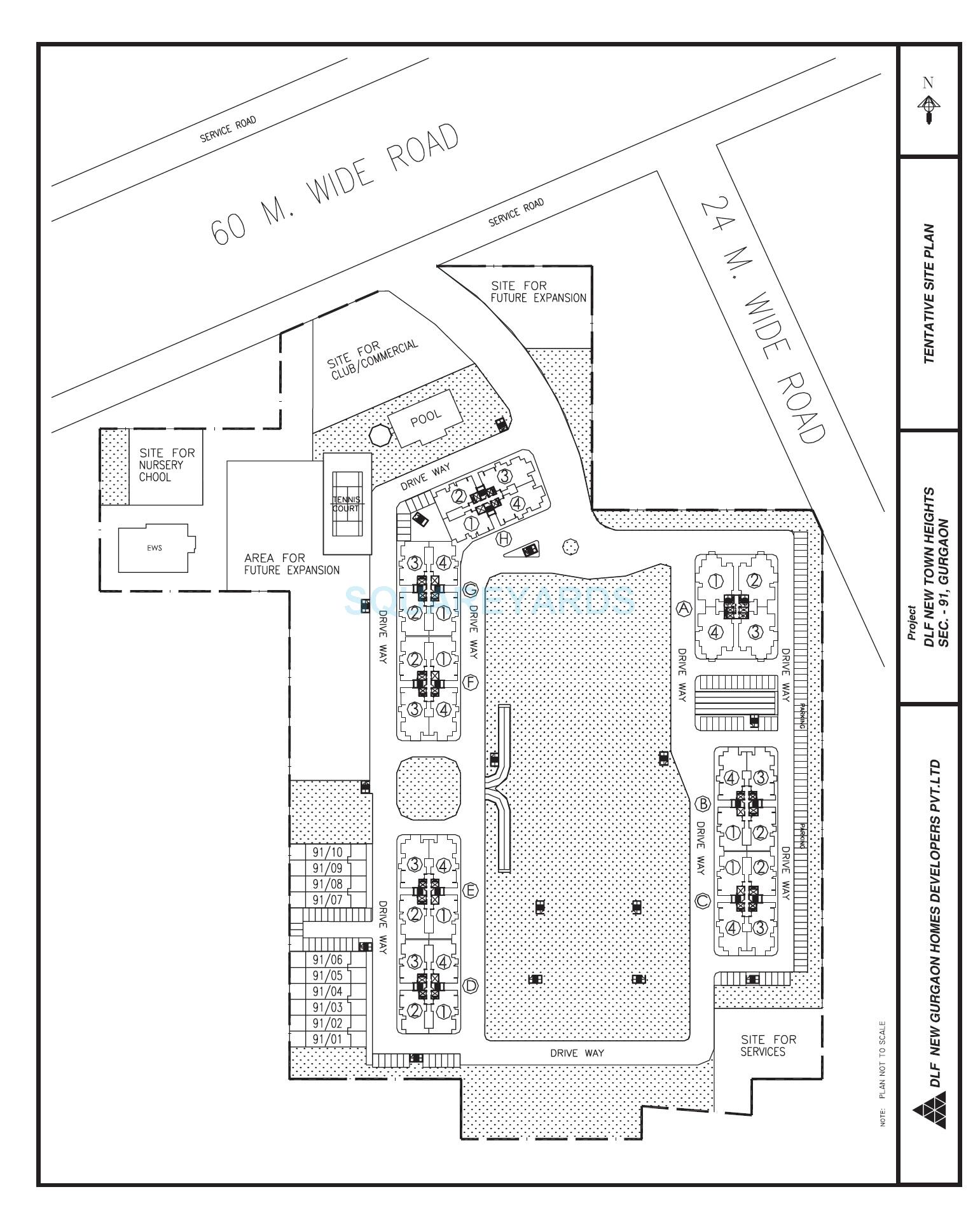 dlf new town heights iii master plan image1