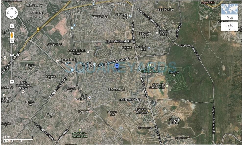 dlf richmond park location image1