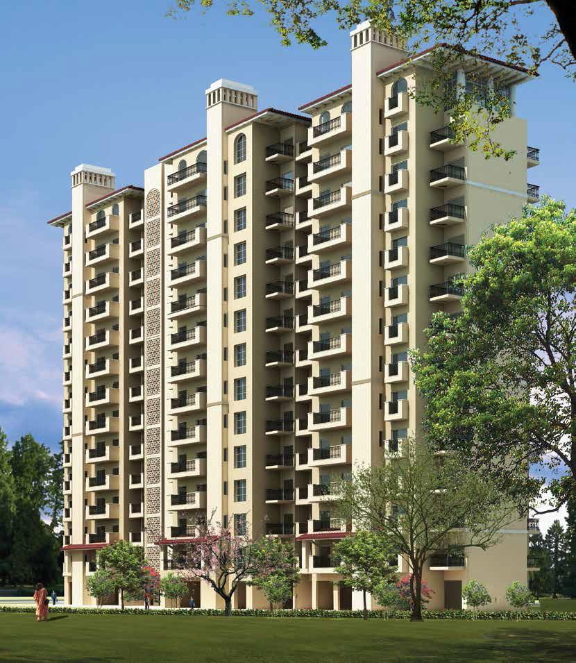 emaar emerald estate project tower view2