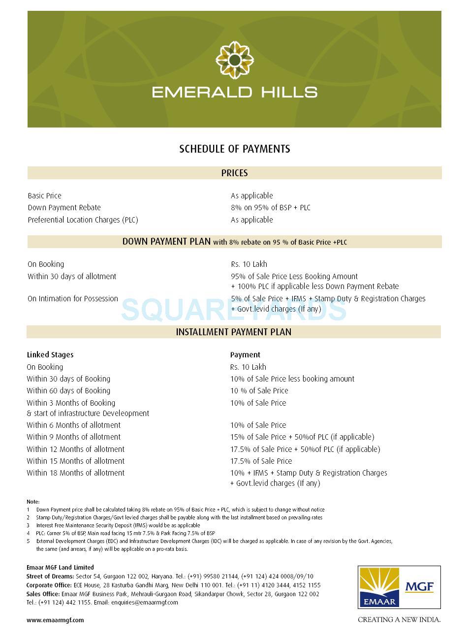 emaar mgf emerald floors payment plan image1