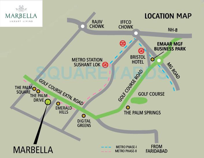 emaar mgf marbella location image1