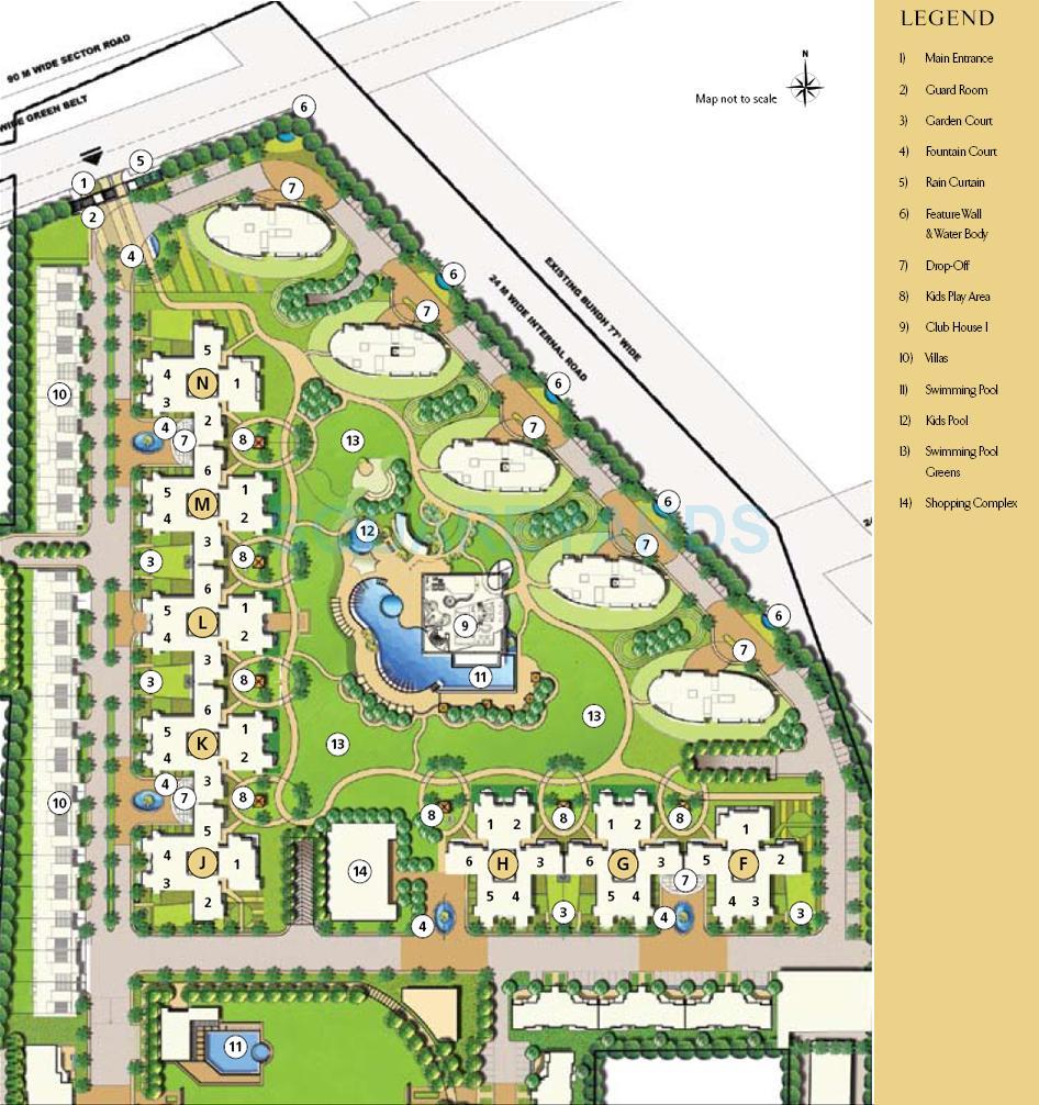 emaar mgf sky terraces master plan image1
