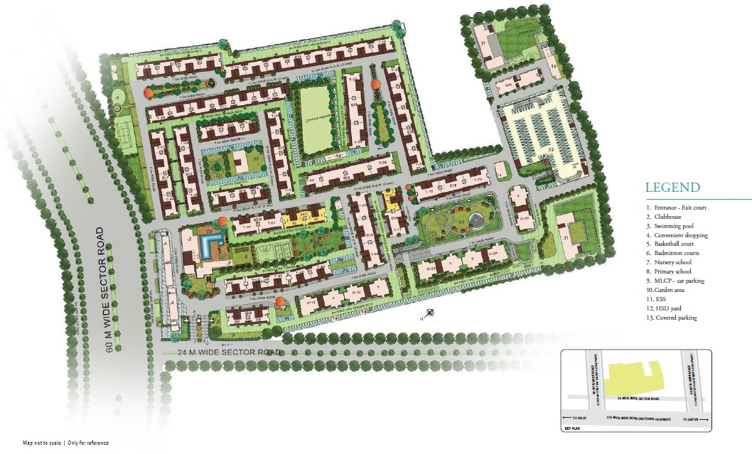 emaar palm select project master plan image1