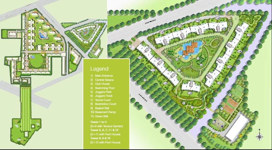 emaar palm terraces master plan image4