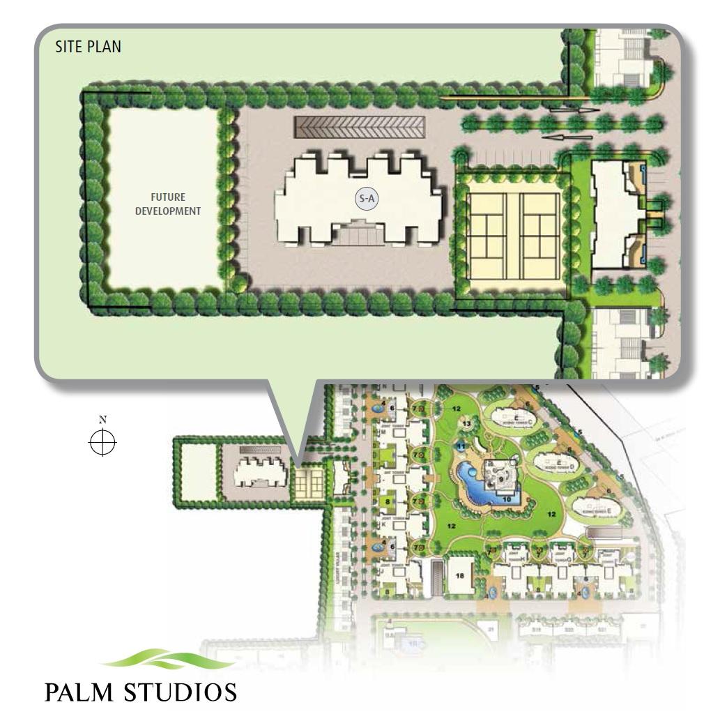 emaar the palm drive palm studios master plan image8
