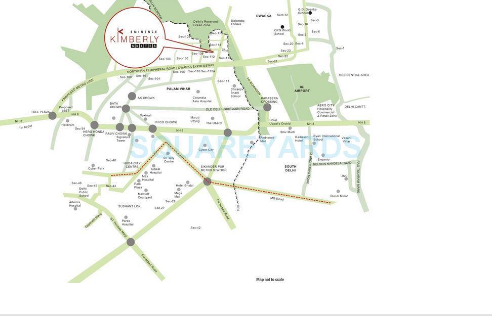 eminence kimberly suites location image1