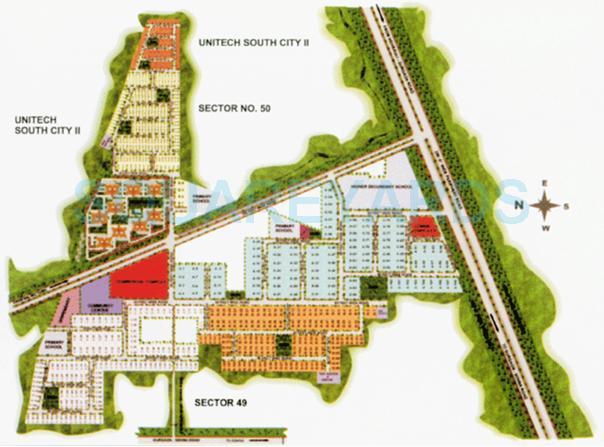 eros rosewood villas location image1