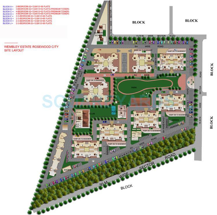 eros wembley estate master plan image2