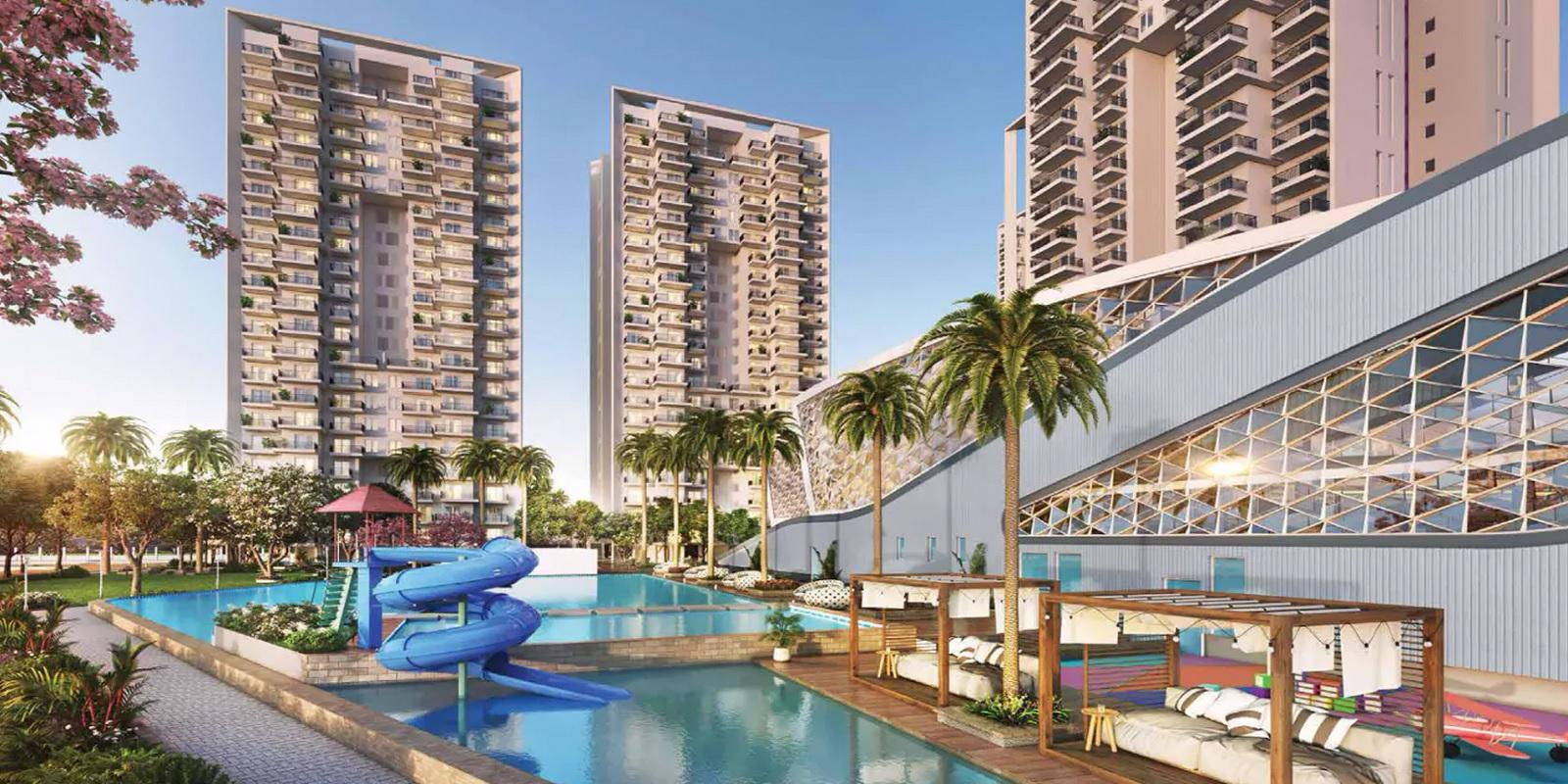 godrej serenity gurgaon project tower view1
