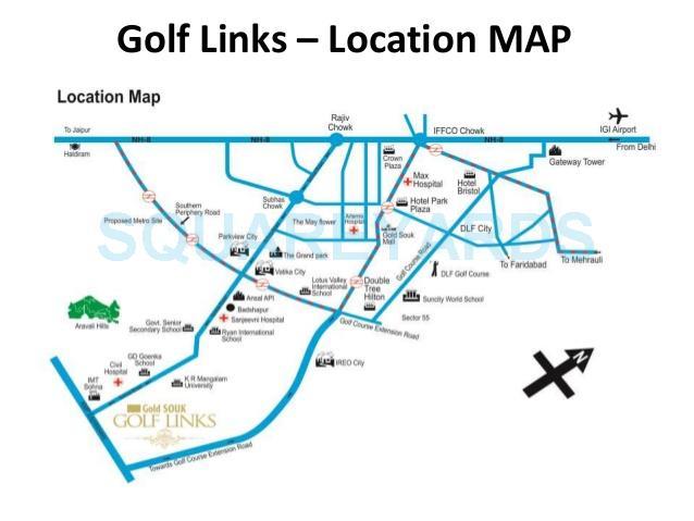 gold souk golf links location image1