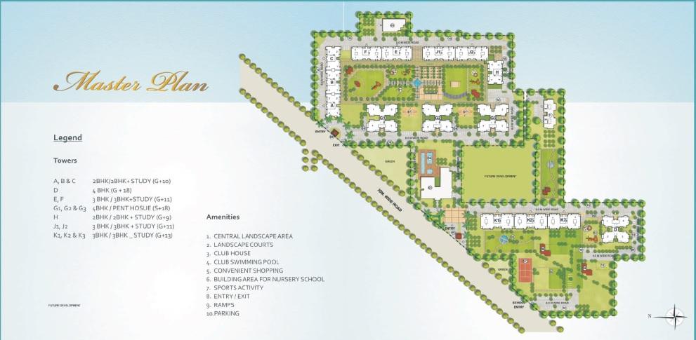 indiabulls centrum park master plan image5