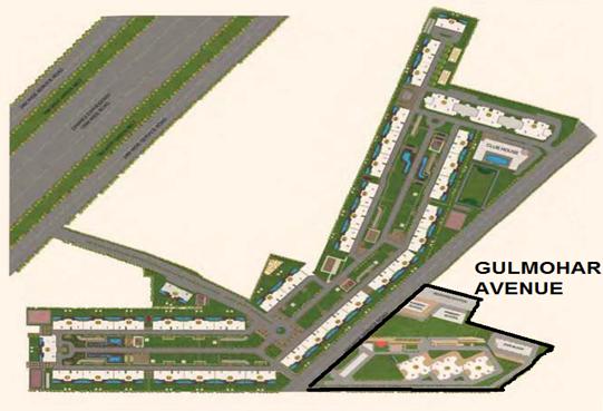 indiabulls gulmohar avenue master plan image1
