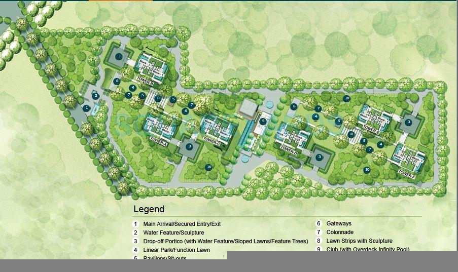 ireo gurgaon hills master plan image1