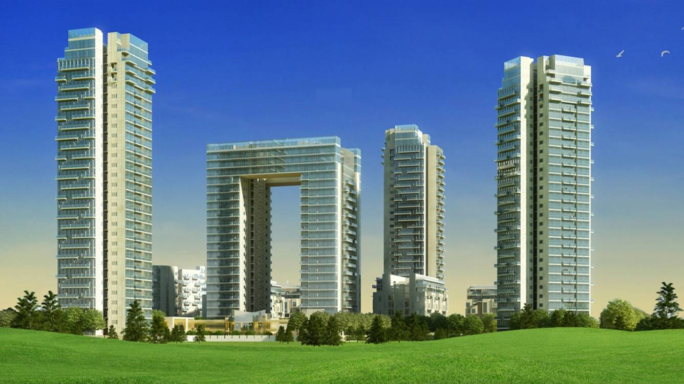 ireo the grand arch project tower view1
