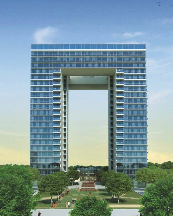 ireo the grand arch project tower view2