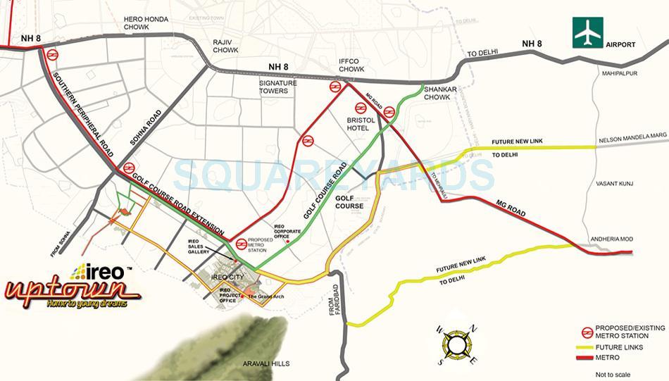 ireo uptown location image1