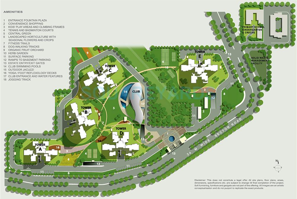 ireo uptown master plan image1