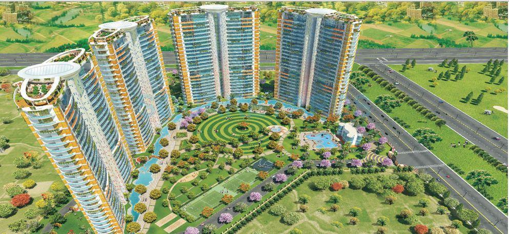 krrish provence estate master plan image1