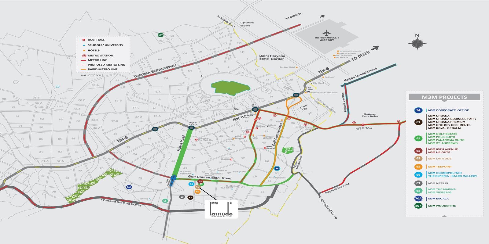 m3m latitude location image2