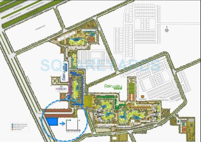 m3m latitude master plan image1