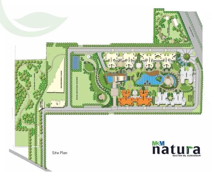 m3m natura master plan image1