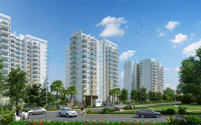 m3m woodshire tower view3