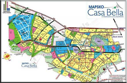 mapsko casa bella apartments location image1