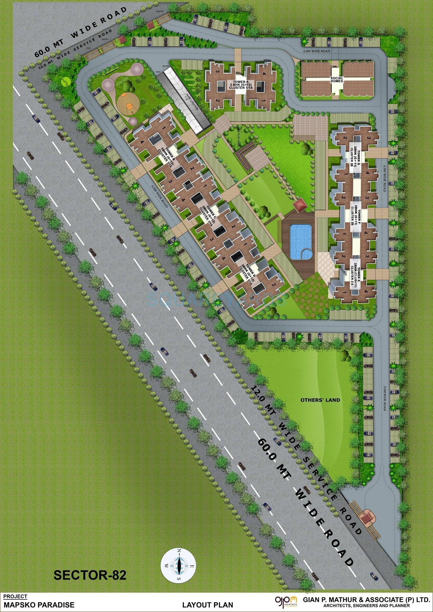 mapsko paradise master plan image1