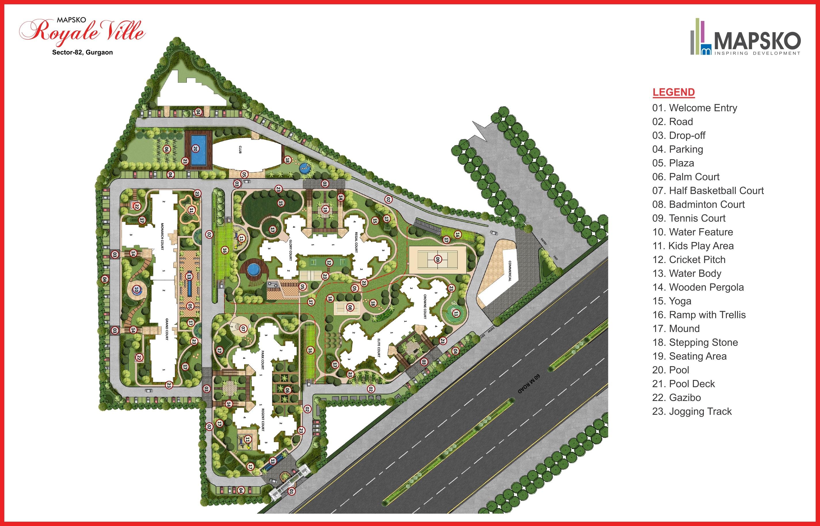 mapsko royale ville master plan image8