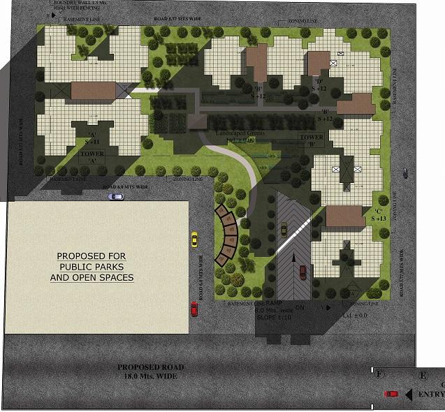 maxworth premier urban project master plan image1