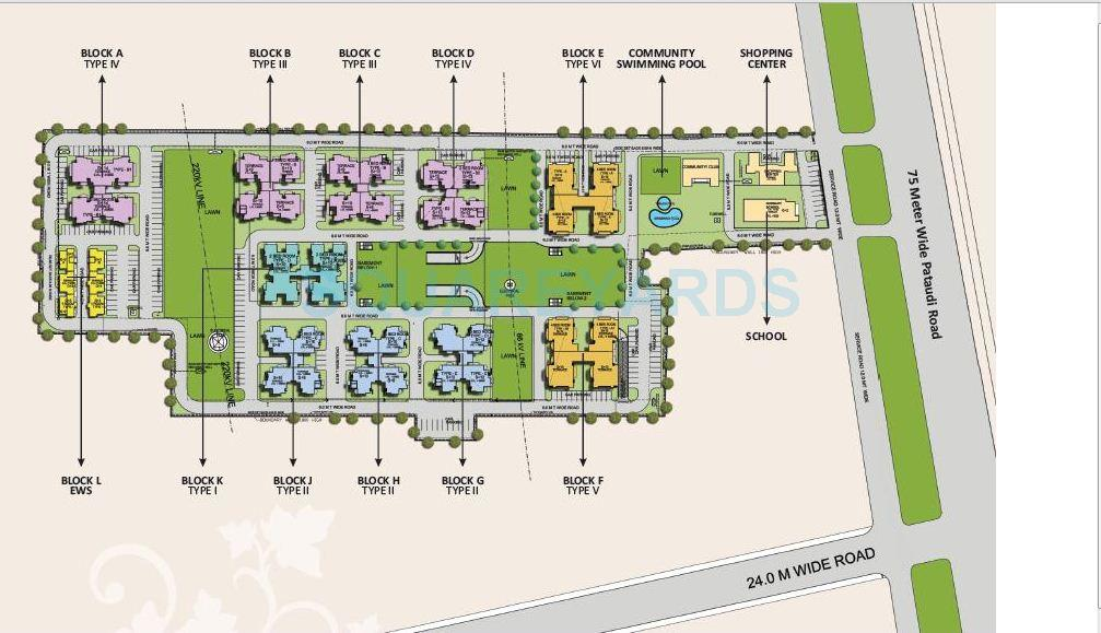 nbcc heights master plan image1