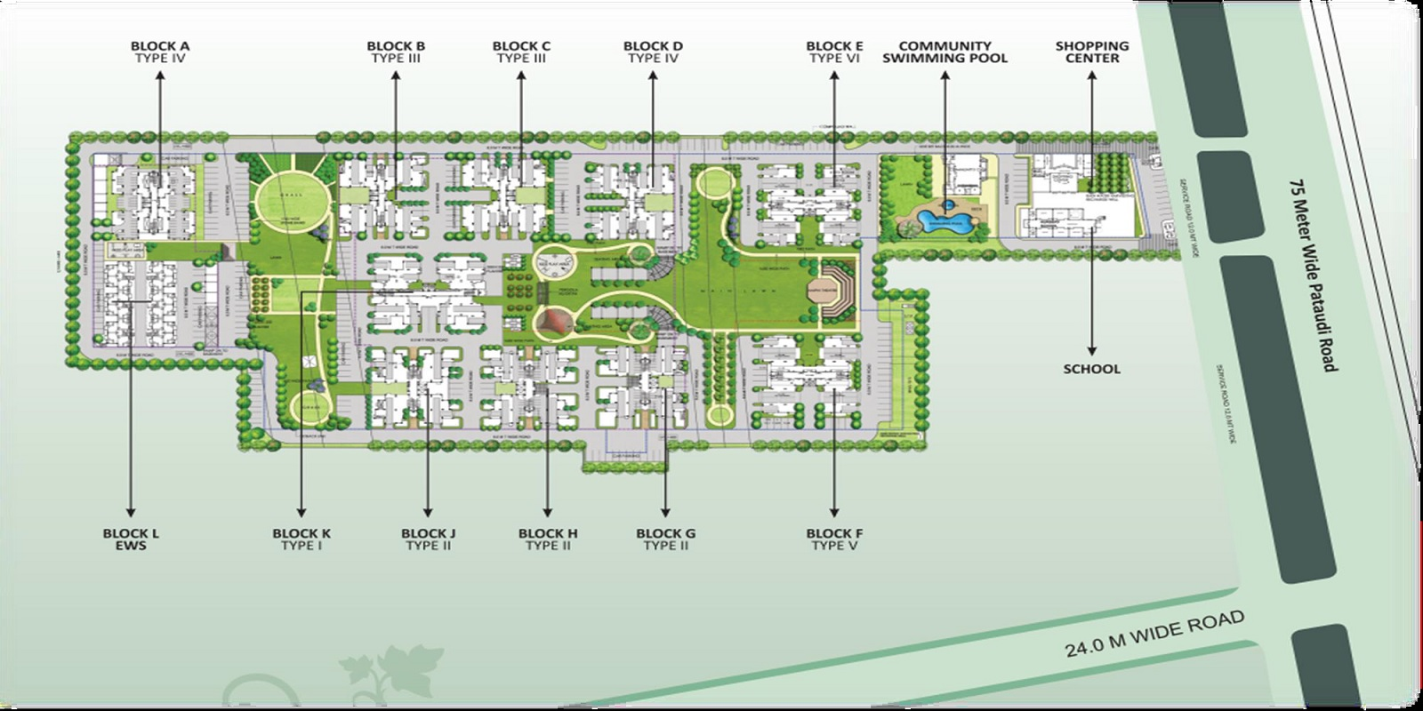 nbcc heights master plan image8