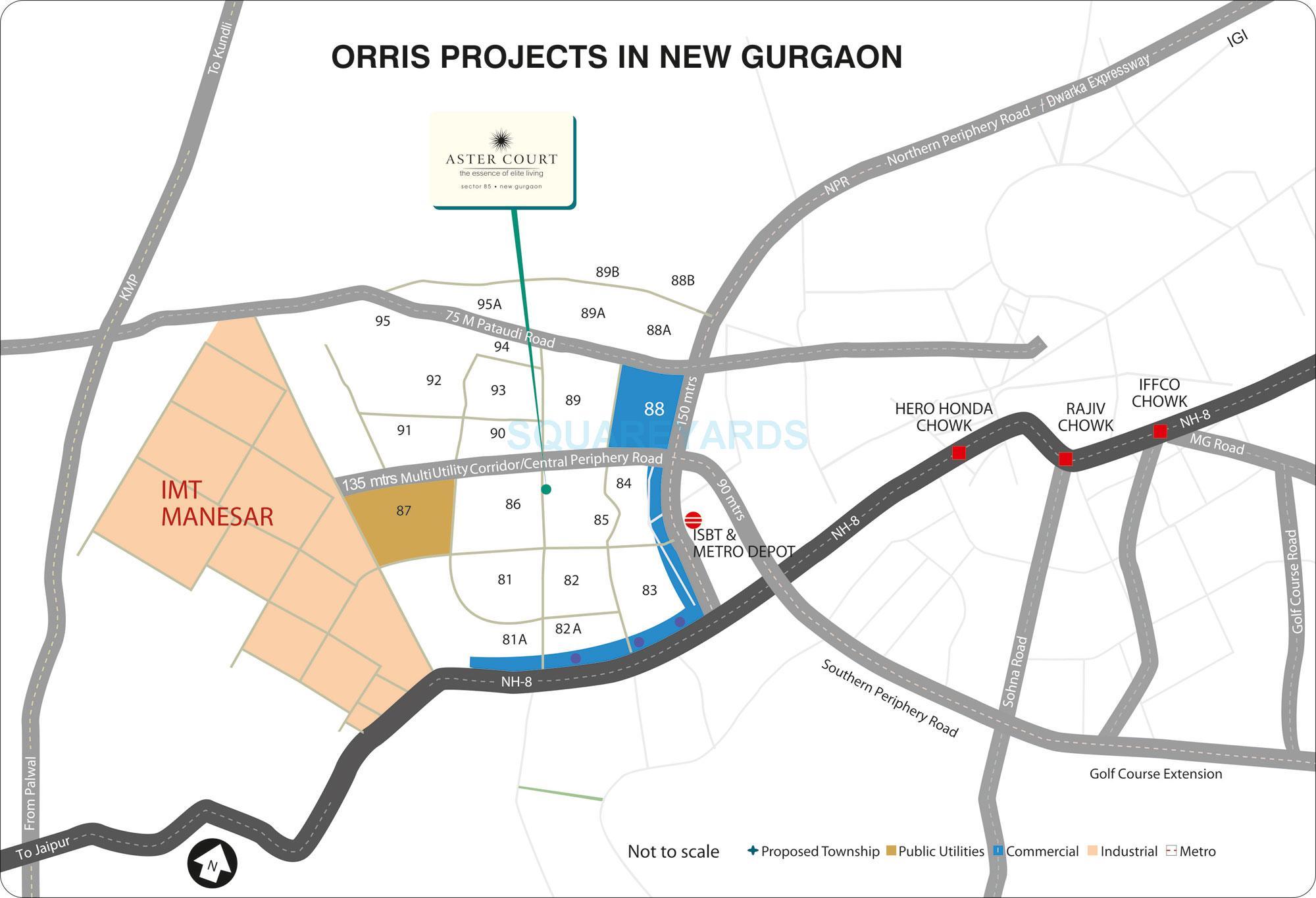 orris aster court location image1