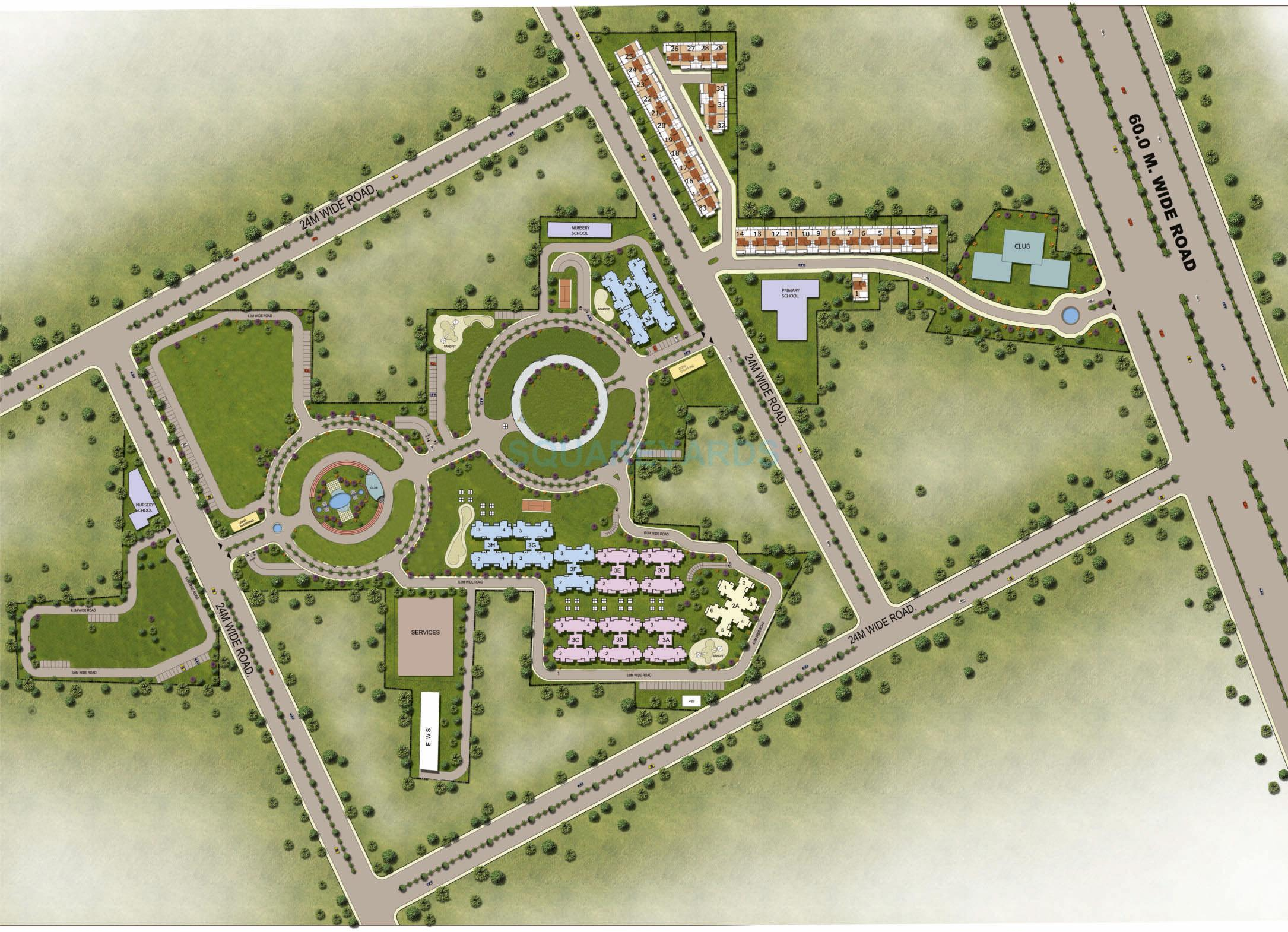 orris aster court master plan image1