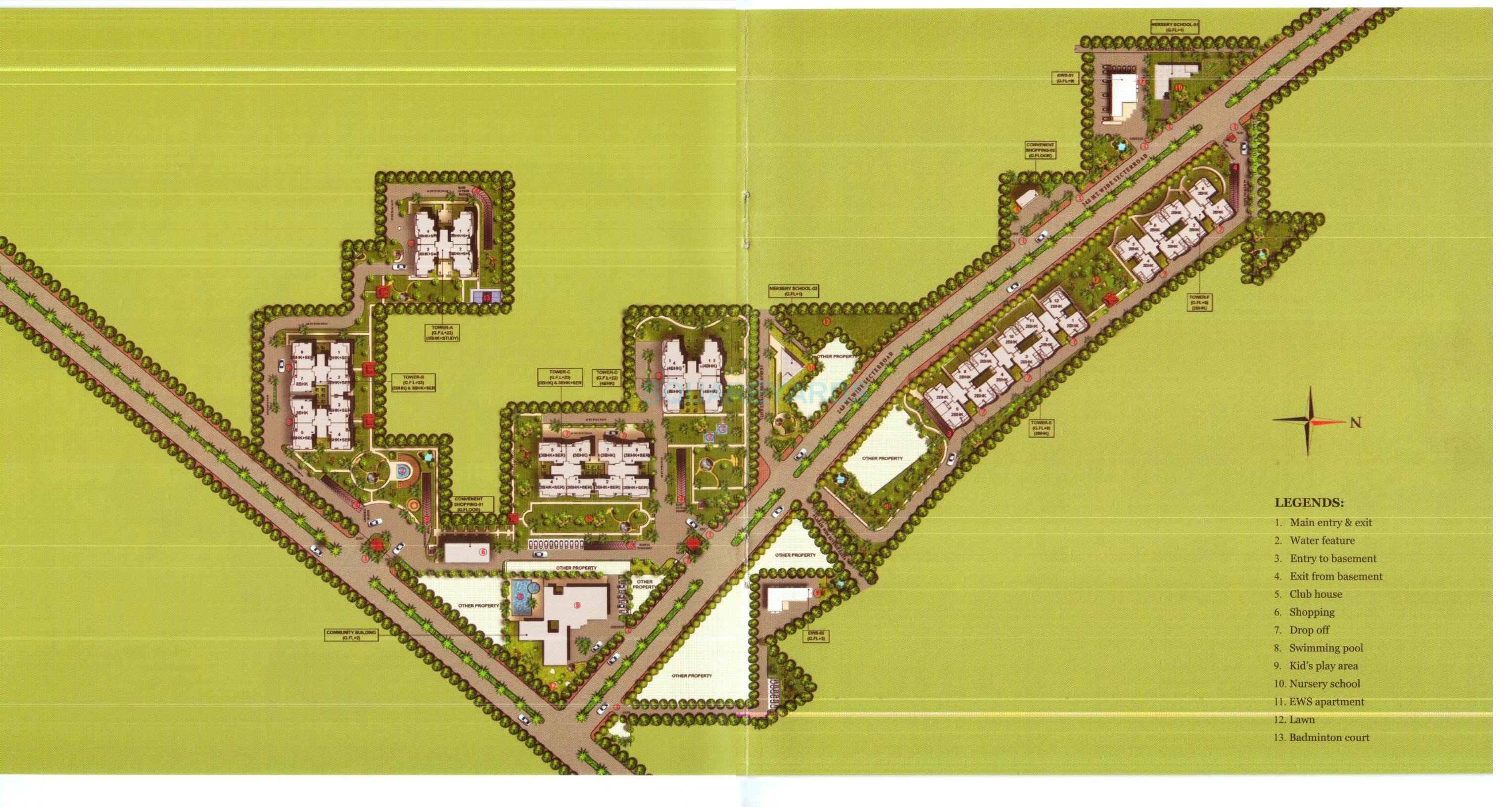 paras dews master plan image1