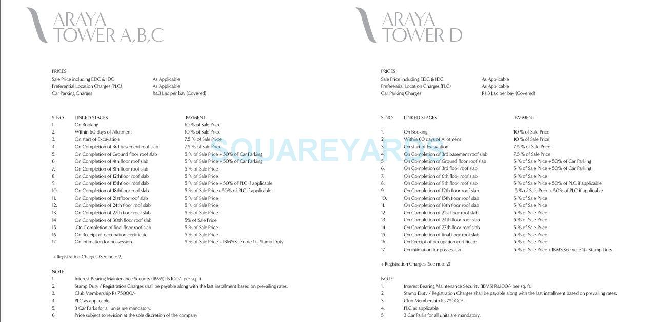 pioneer park araya payment plan image1