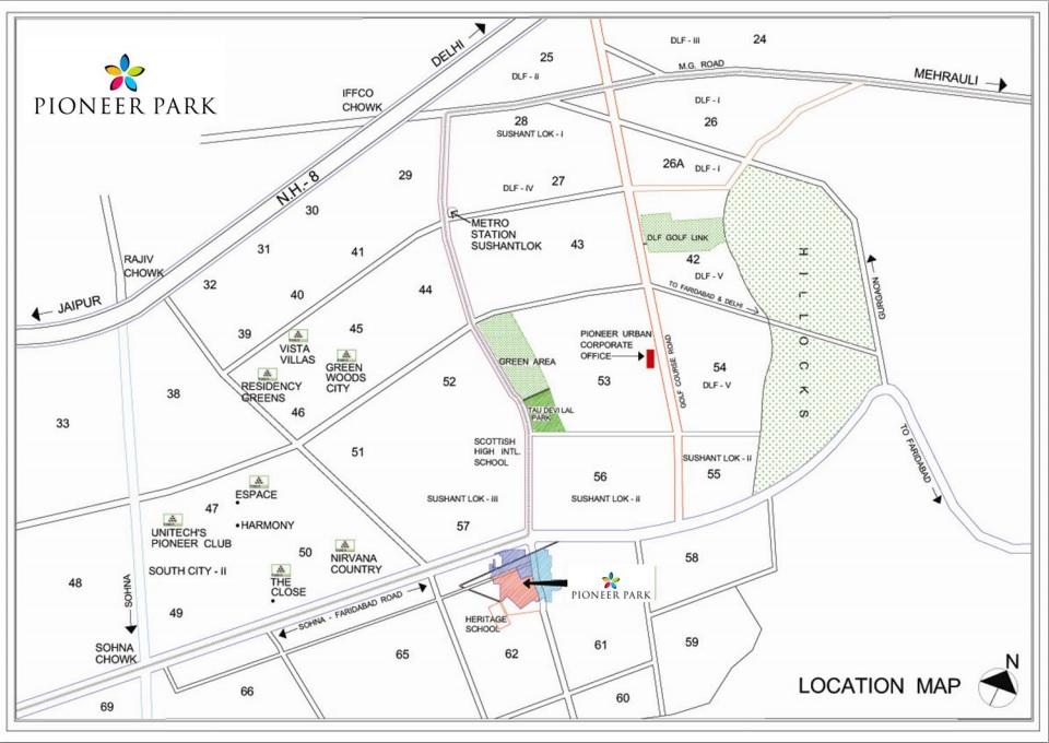 pioneer park presidia location image8