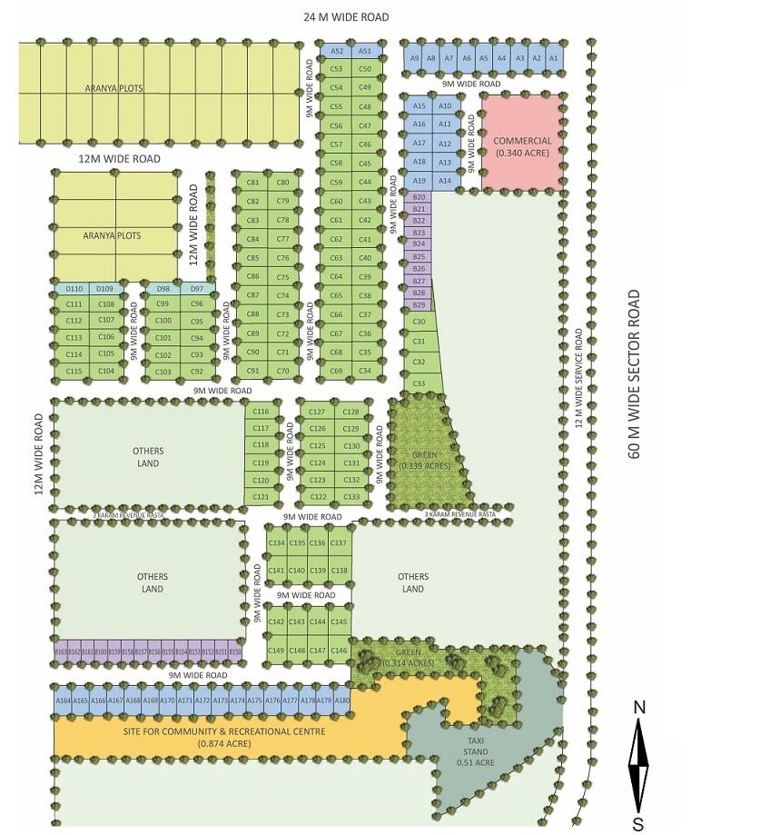 raheja akshara master plan image5