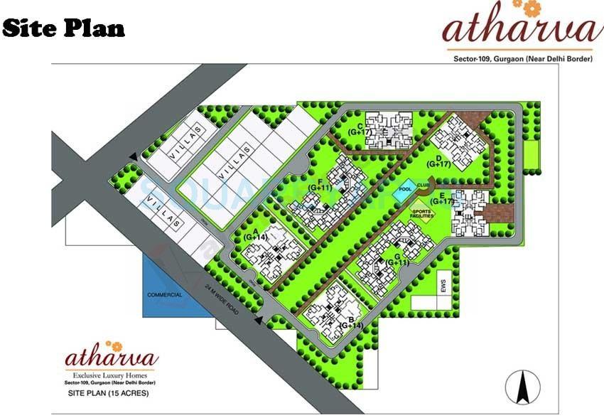 raheja atharva master plan image1