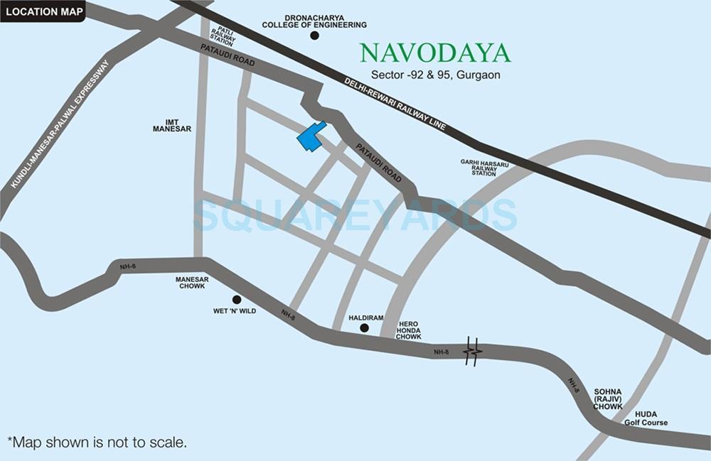 raheja navodaya location image1