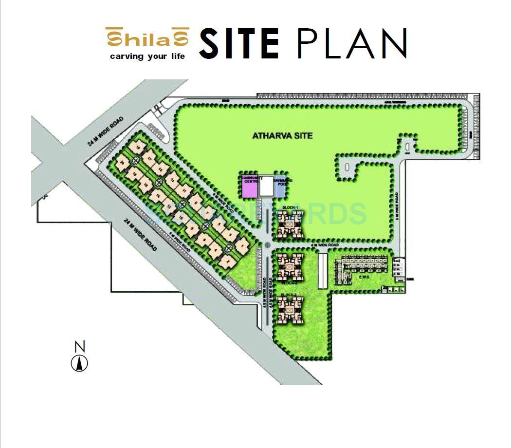 raheja shilas master plan image1