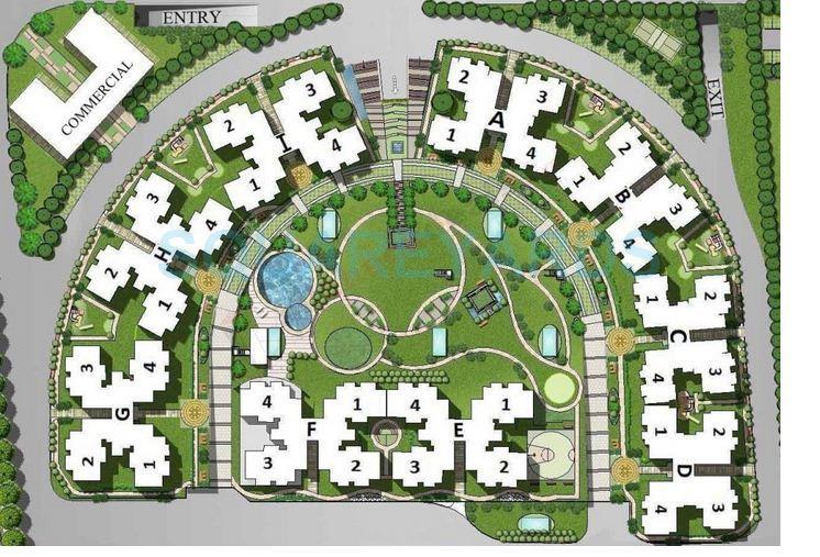 ramprastha city skyz master plan image1
